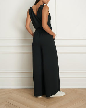 Load image into Gallery viewer, Sleeveless jumpsuit with flowy leg