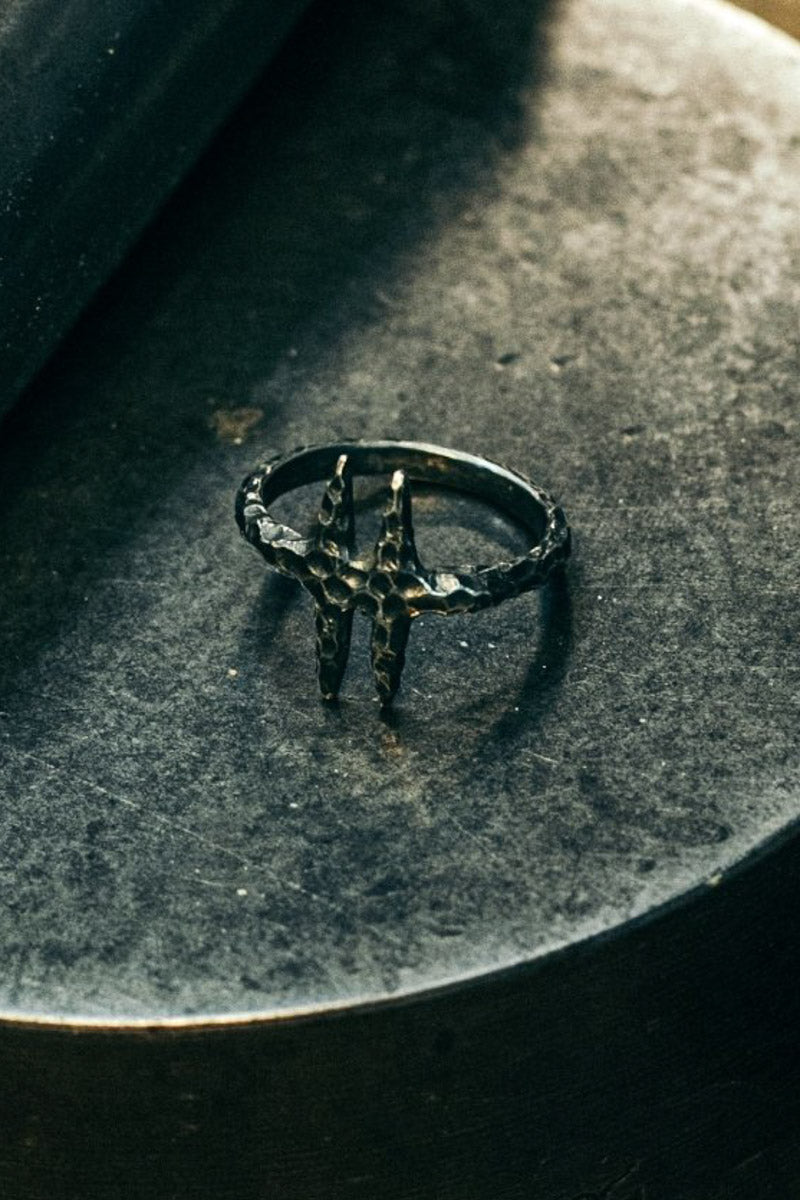 "HEX ""Ravage"" Ring (925 Silver)"