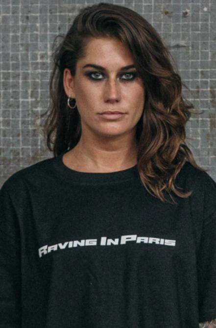 """RAVING IN PARIS"" Oversized T-Shirt"