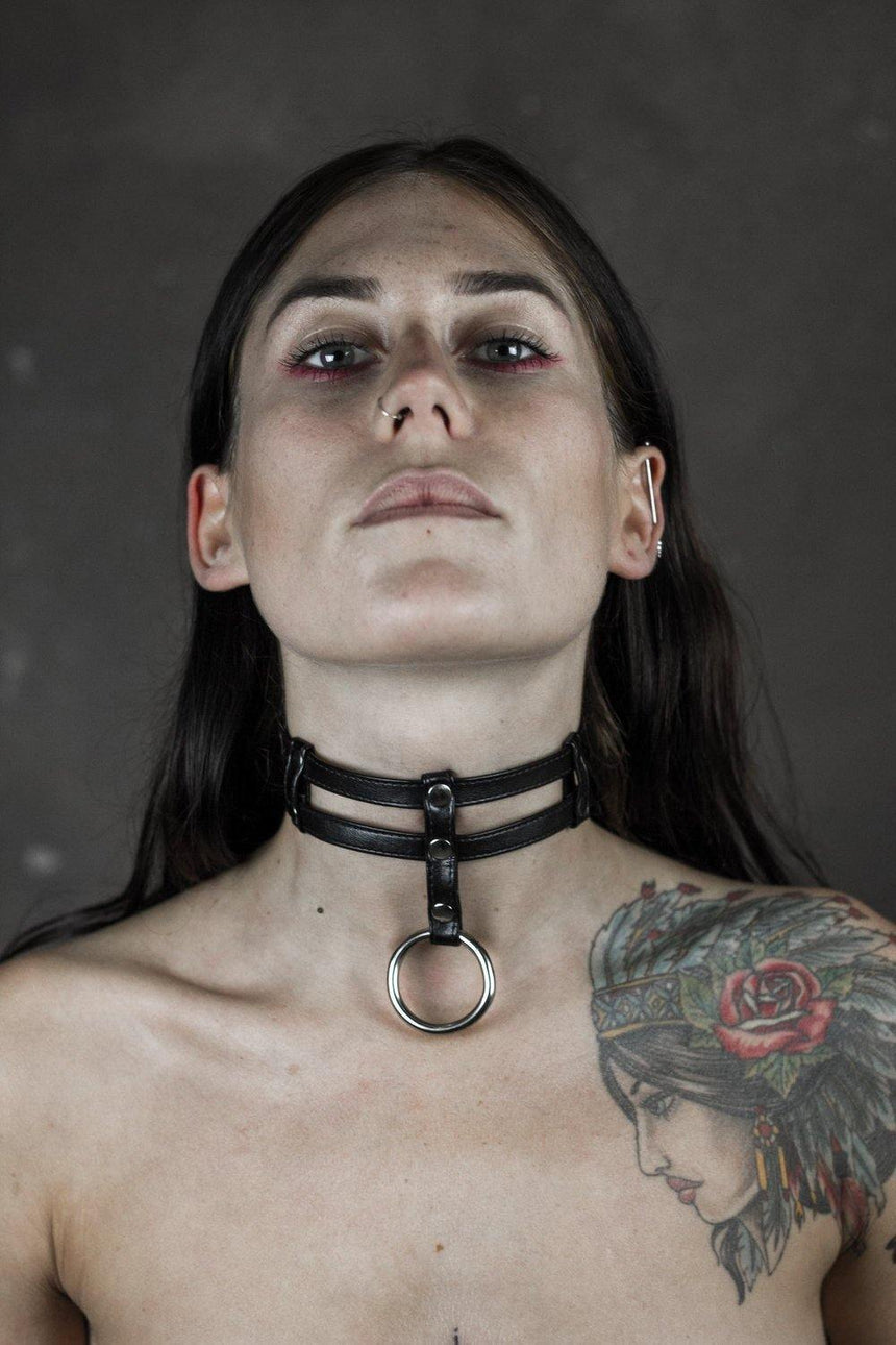 "HEX OBSCENE 1.05 ""Serfdom Choker"" - HEX Clothing"
