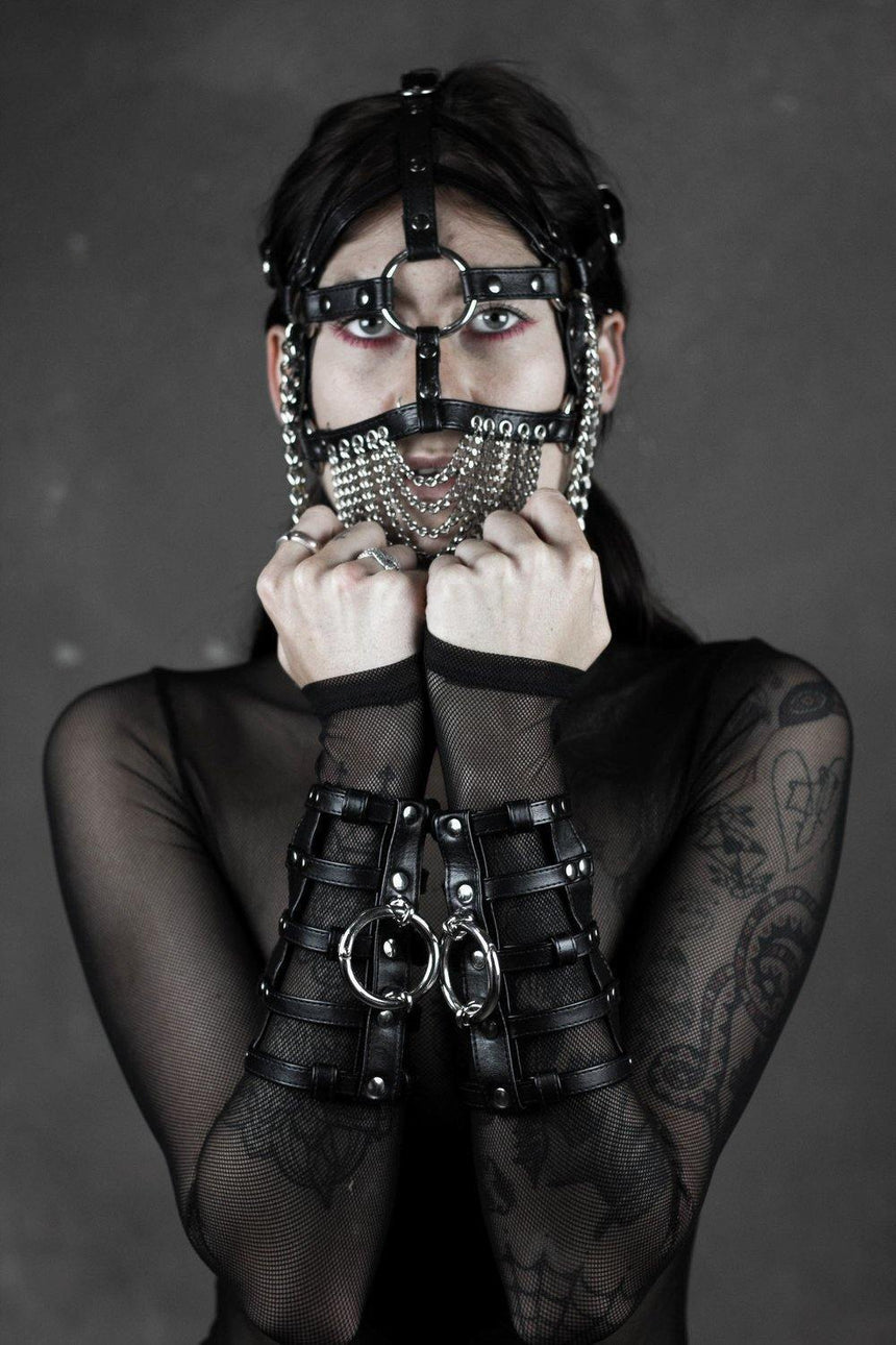 "HEX OBSCENE 1.06 ""Chamber Cuffs"" - HEX Clothing"