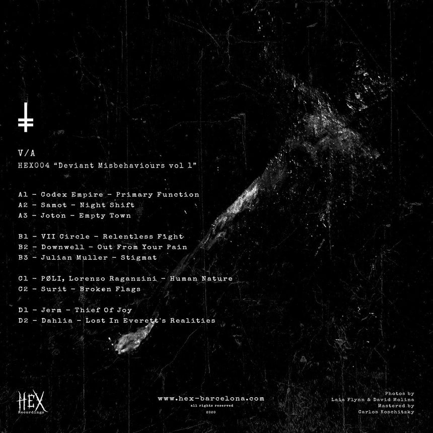 "HEX004 ""Deviant Misbehaviours Vol. 1"" - V/A - HEX Clothing"