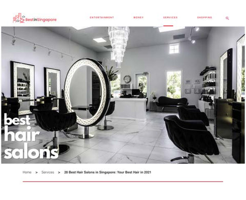 Best in Singapore: 28 BEST HAIR SALONS IN SINGAPORE: YOUR BEST HAIR IN 2021