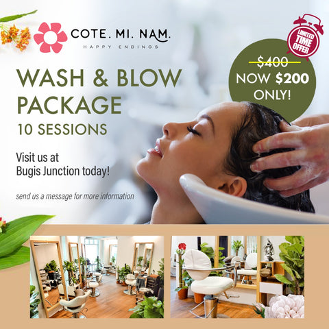 Wash & Blow Package