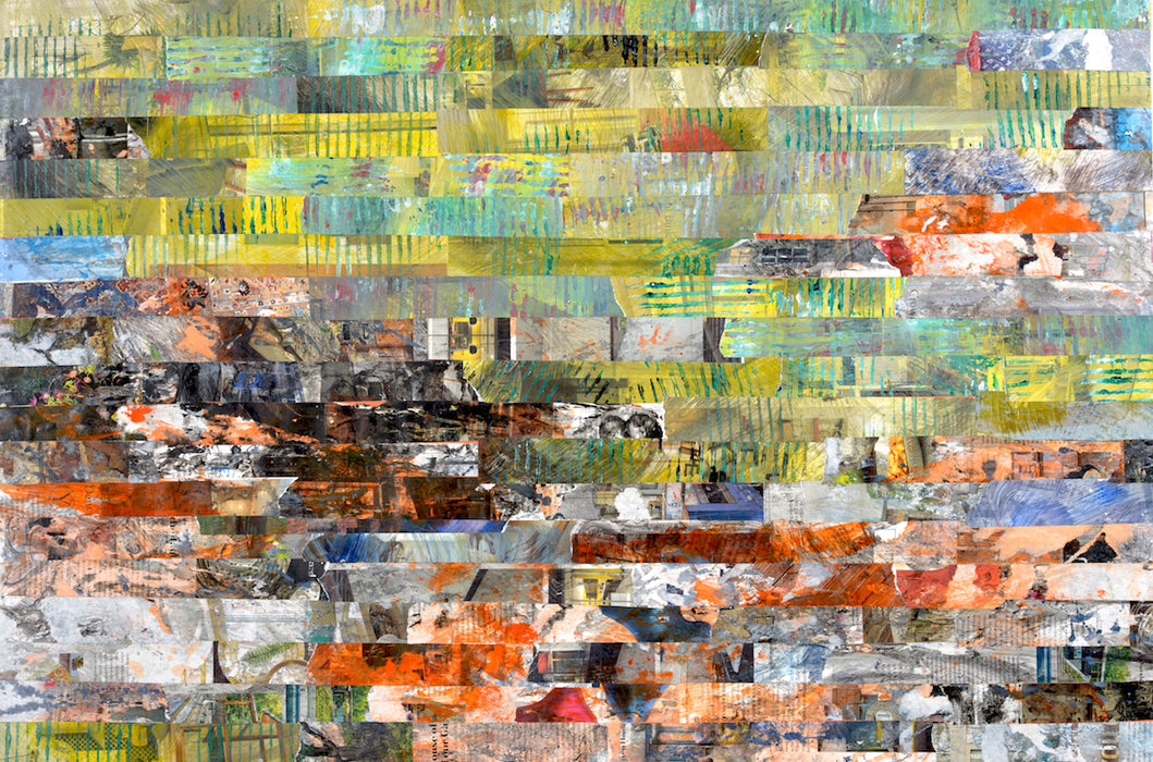"""Valley of an Urban Sprawl"" Original Fine Art - gartsy.com"