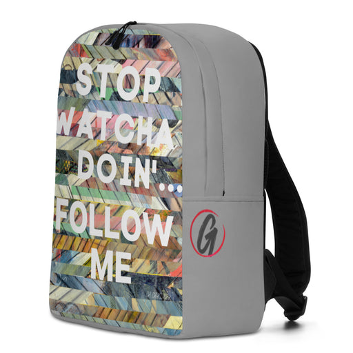 Follow Me Minimalist Backpack - gartsy.com