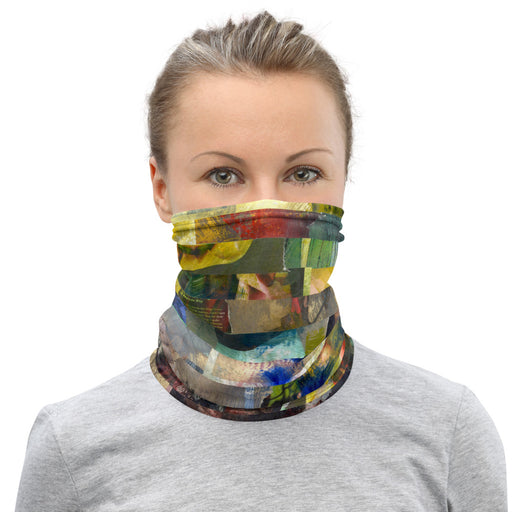 Piece of Green Face Mask - gartsy.com