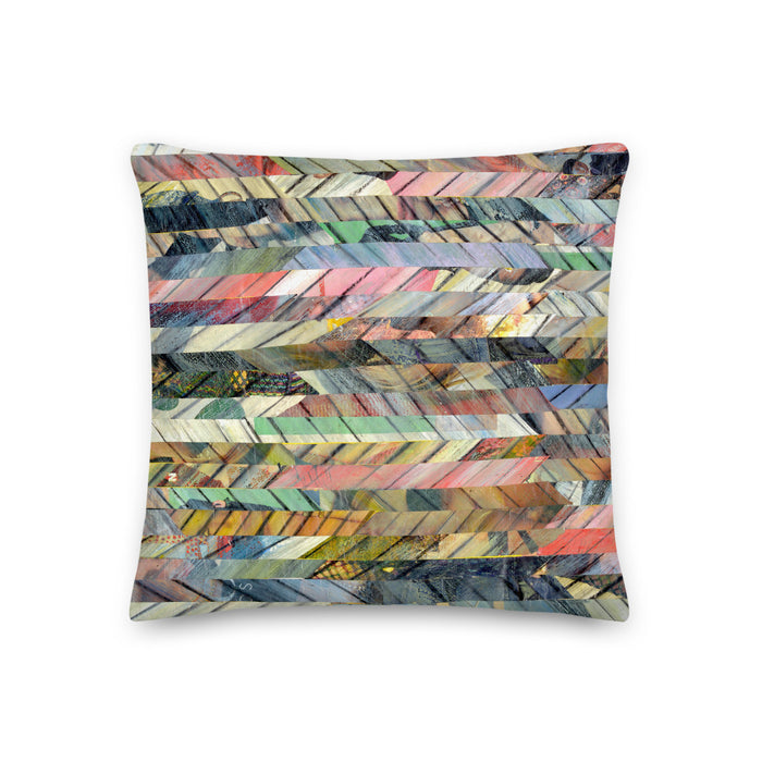 Native Lines Premium Pillow - gartsy.com
