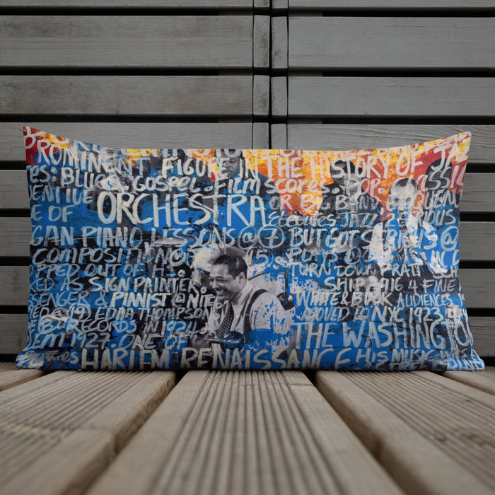 Duke Ellington Premium Pillow - gartsy.com