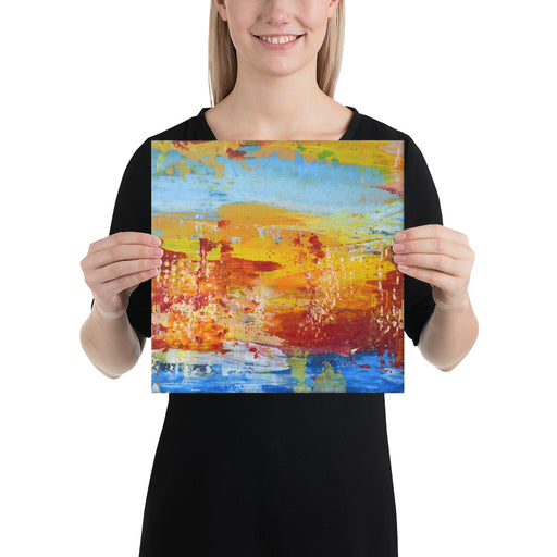 """Sky and Water 13"" Canvas Print - gartsy.com"