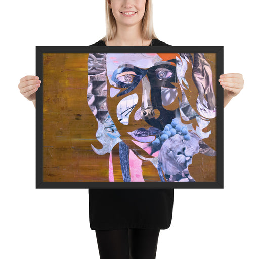 """International Woman"" Framed poster - gartsy.com"