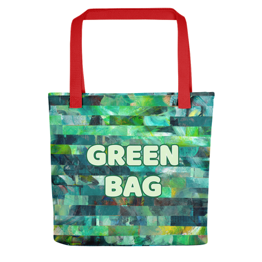 Green tote bag - gartsy.com