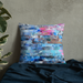 Pink Water Premium Pillow - gartsy.com