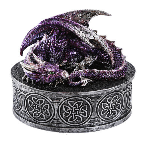 PURPLE DRAGON CELTIC BOX