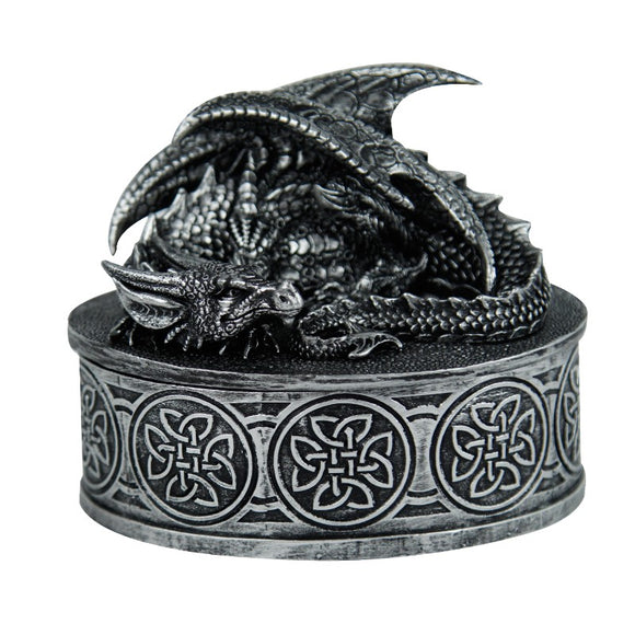DRAGON LIDDED BOX