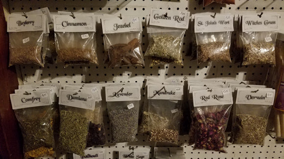 HERBS, FLOWERS, BUDS, & SEEDS