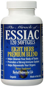 ESSIAC TEA SOFTGELS - HERBAL BALANCE FOR LIFE
