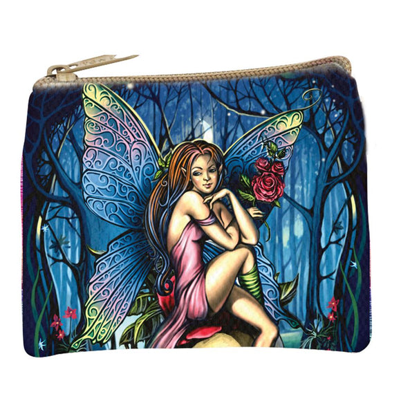 FAIRY GRAPHIC PRINT COIN PURSE