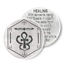 SPELL CHARMS PENDANTS - HEALING