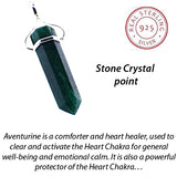 ADVENTURINE WAND POINT