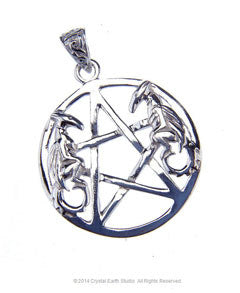 DOUBLE DRAGON PENTACLE