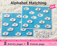 Load image into Gallery viewer, Alphabet Matching Activity