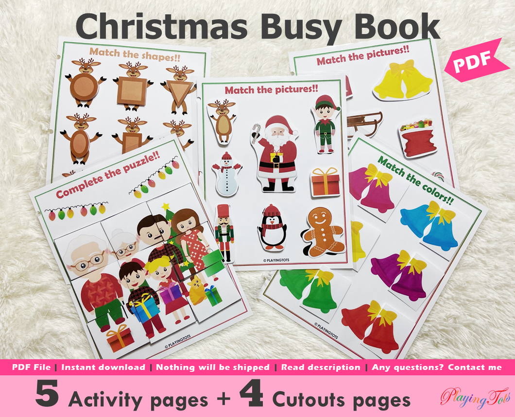 Christmas Busy Book