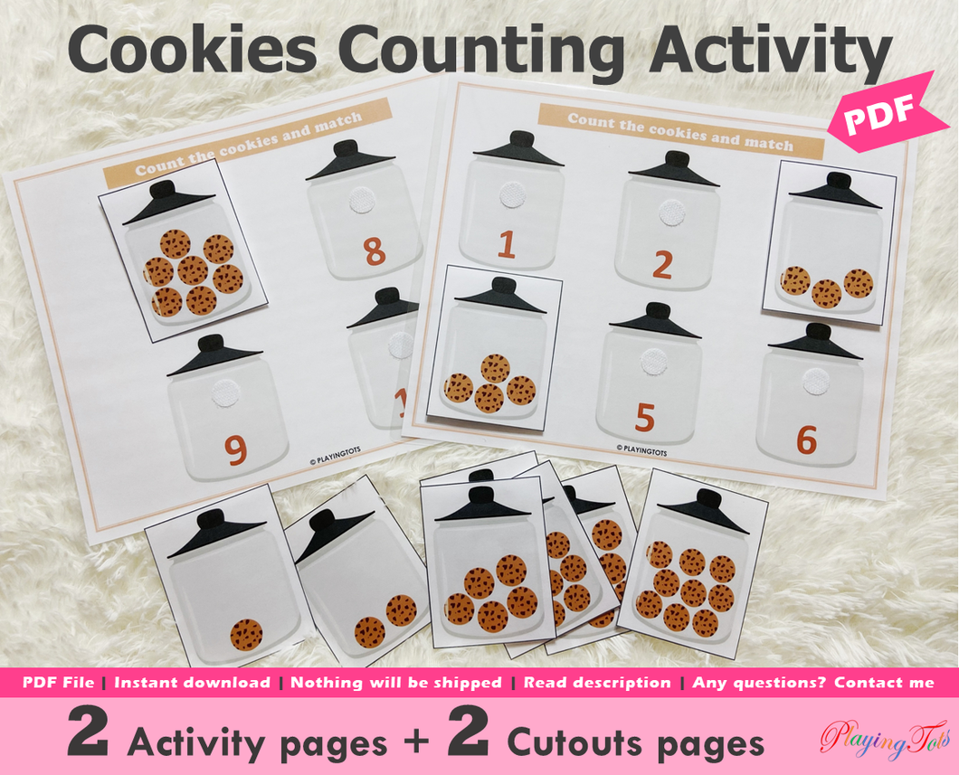 Cookies Counting Activity