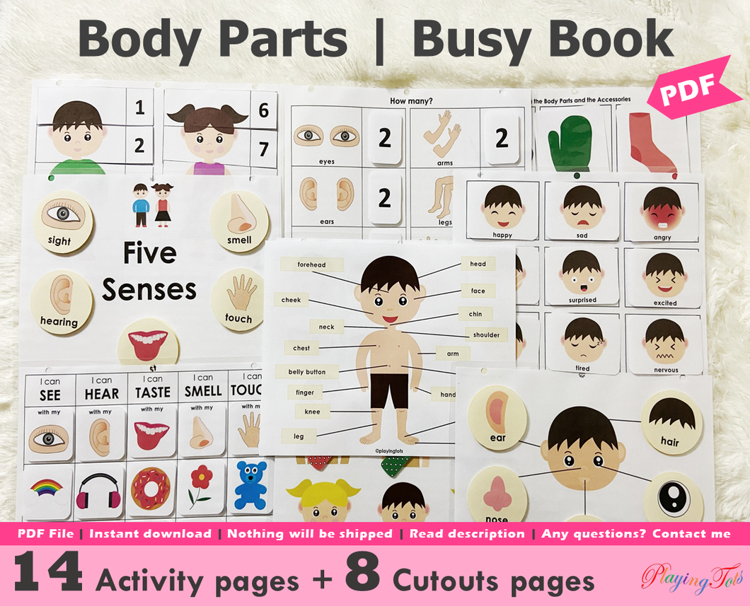 Body Parts | Activity Pack