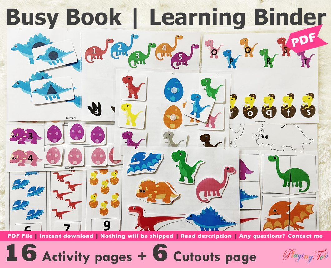 Dinosaur Busy Book