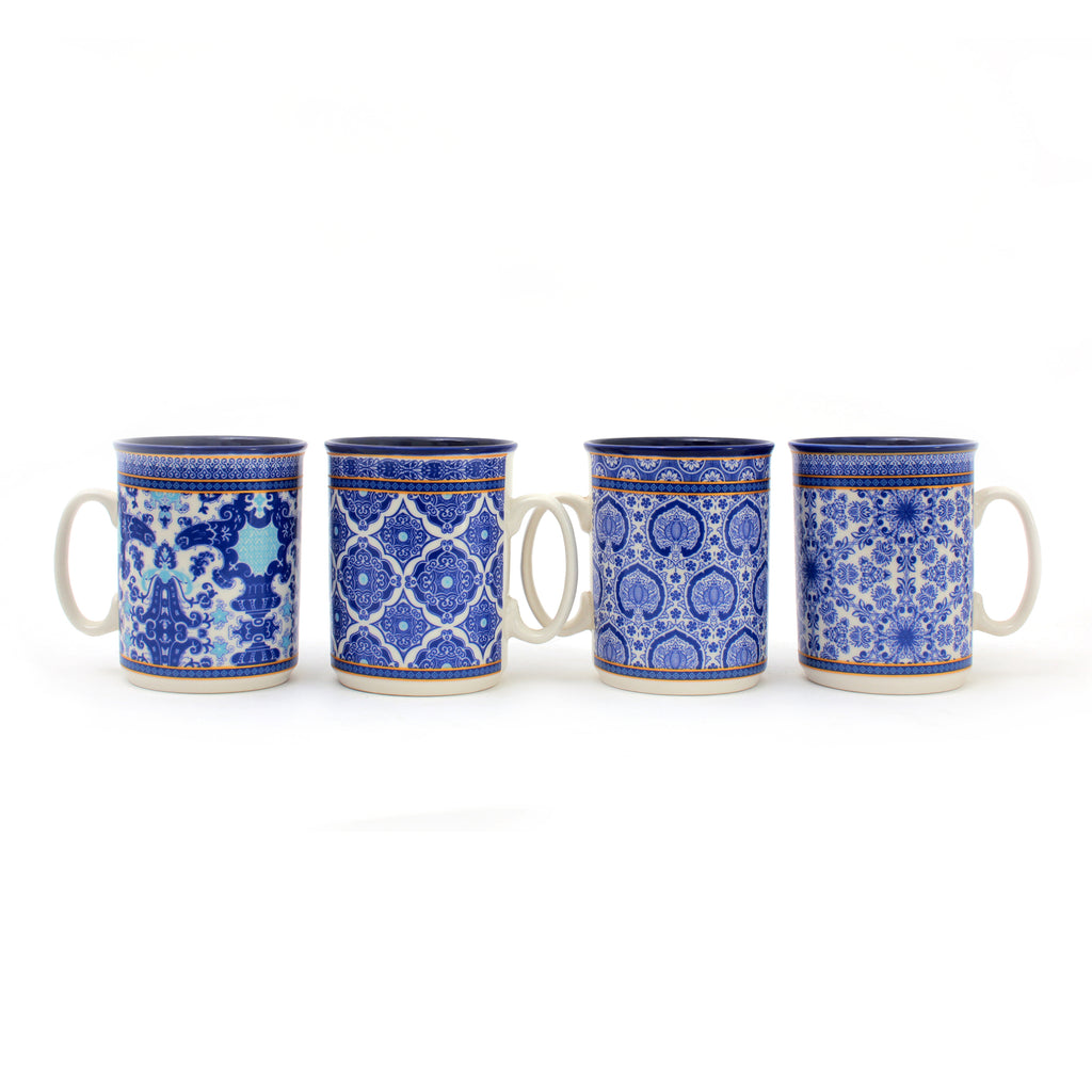 Isfahan Mugs Light | Set of 6 Cups | Heritage Made in Turkey