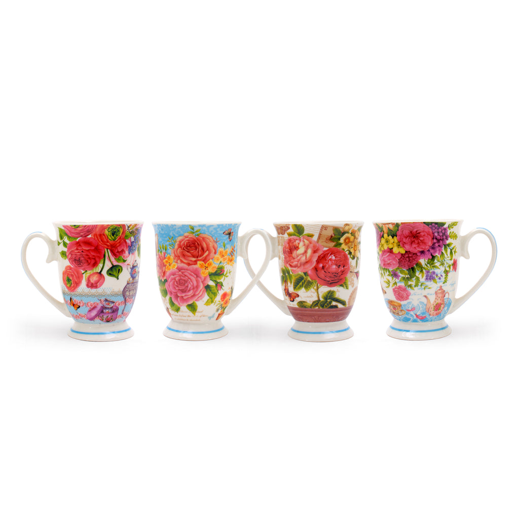 Springtime Mugs | Set of 6 Cups | Heritage Made in Turkey