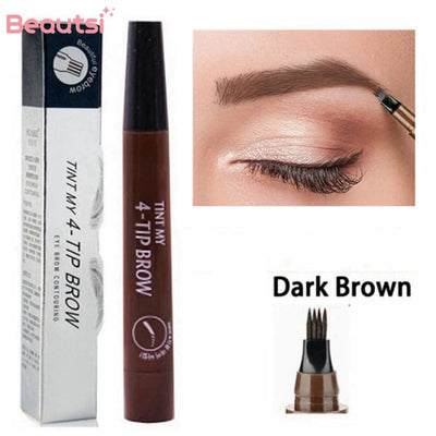 Microblading Eyebrow Pen Dark Brown