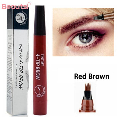 Microblading Eyebrow Pen Red Brown