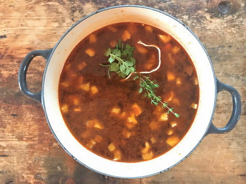 Onesto Smoked Paprika and Vegetable Soup