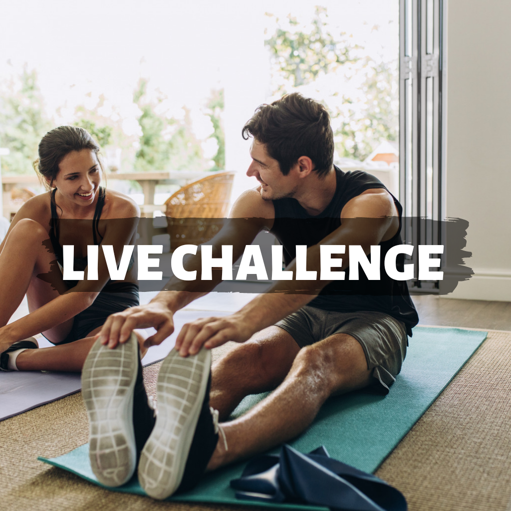 4 week challenge Live classes
