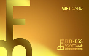 Fitness Bootcamp Gift Card