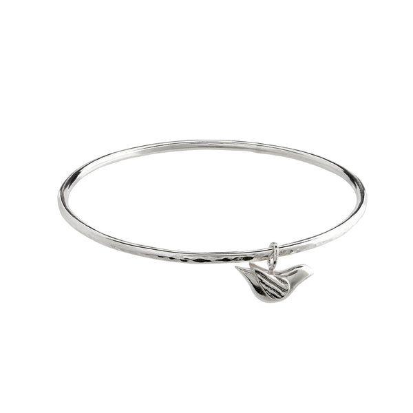 Winged Bird Bangle