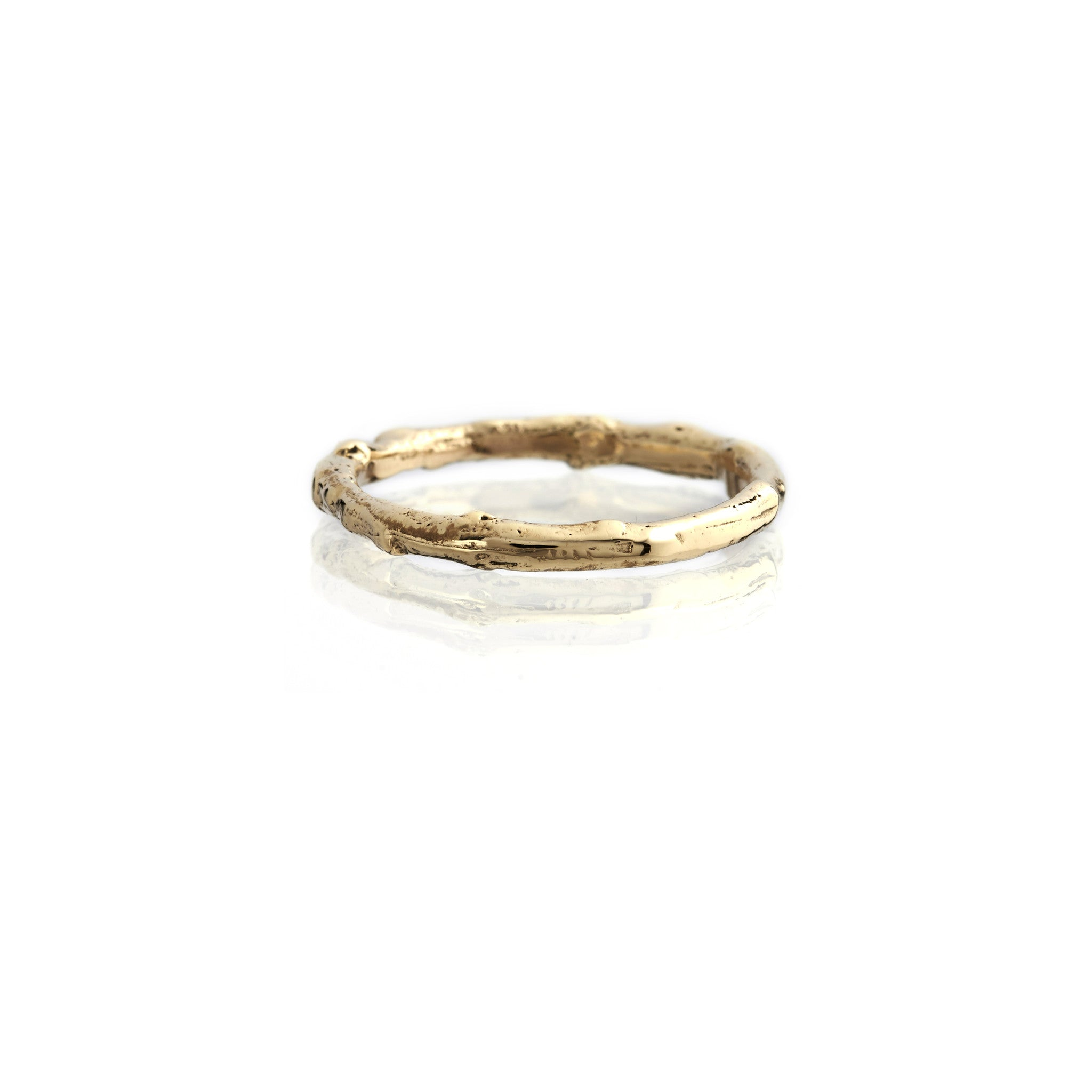 9ct Yellow Gold Twig Ring