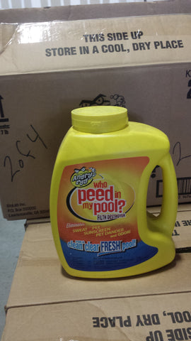 Warehouse Discount - Angry Egg™ Who Peed in My Pool?™ Filth Destroyer (Case of 4 Bottles)