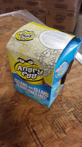 Warehouse Discount - Angry Egg™ Cloudy Water Pool Treatment (Case of 4 Angry Eggs)