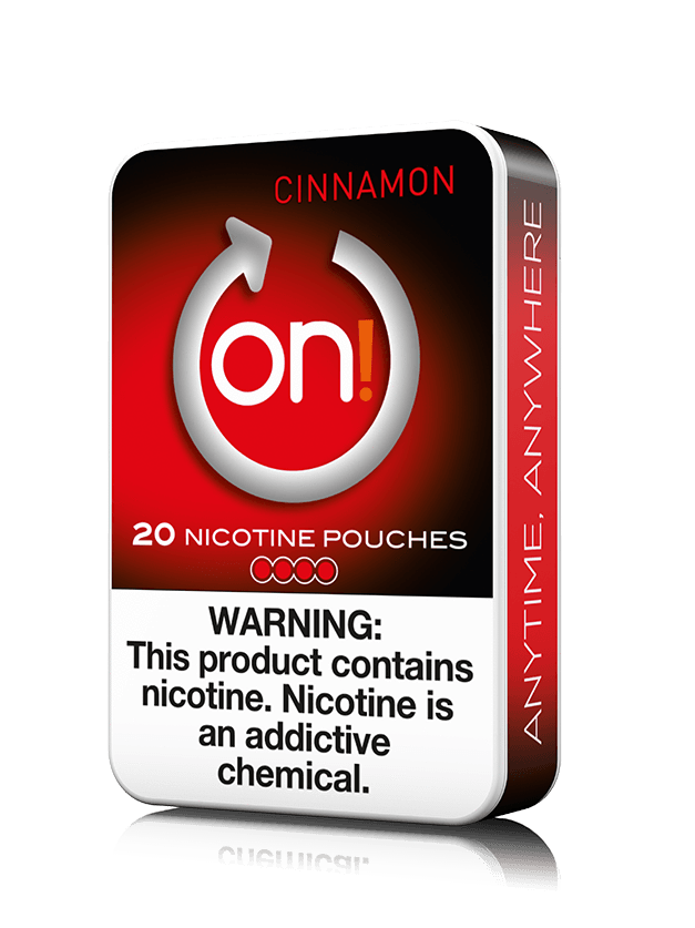 On! Nicotine Pouches - Cinnamon - 8mg - 20 Pouches