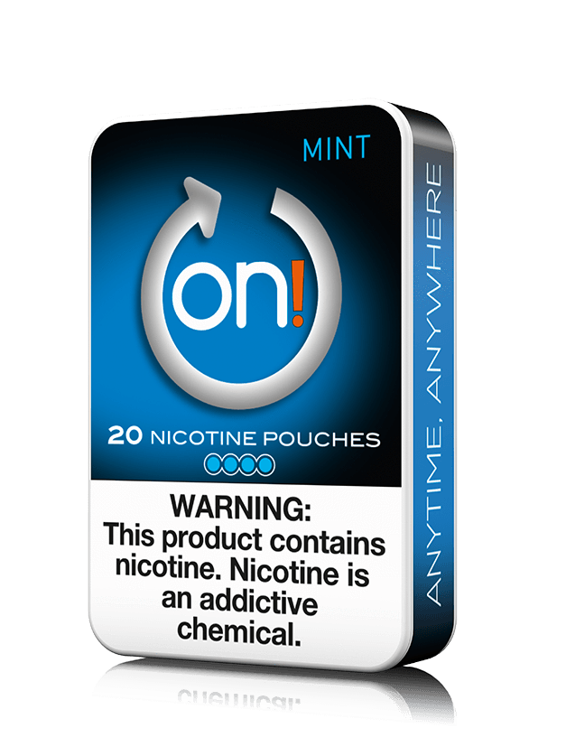 On! Nicotine Pouches - Mint - 8mg - 20 Pouches