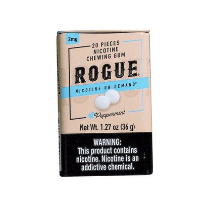 Rogue Nicotine Gum - Peppermint - 2mg