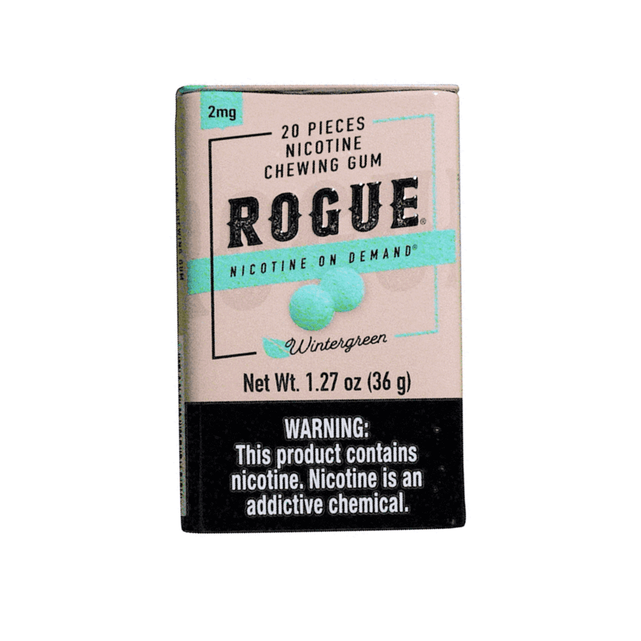 Rogue Nicotine Gum - Wintergreen - 2mg