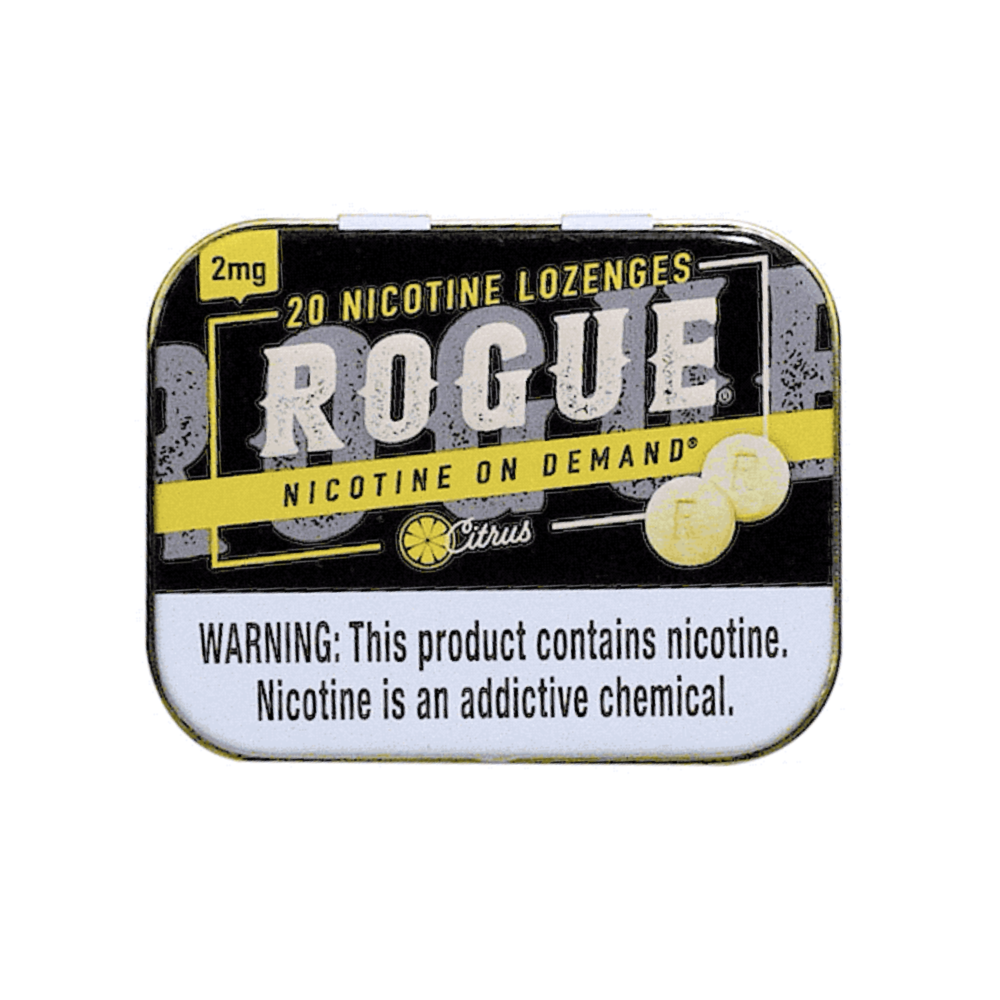 Rogue Nicotine Lozenges - Citrus - 2mg