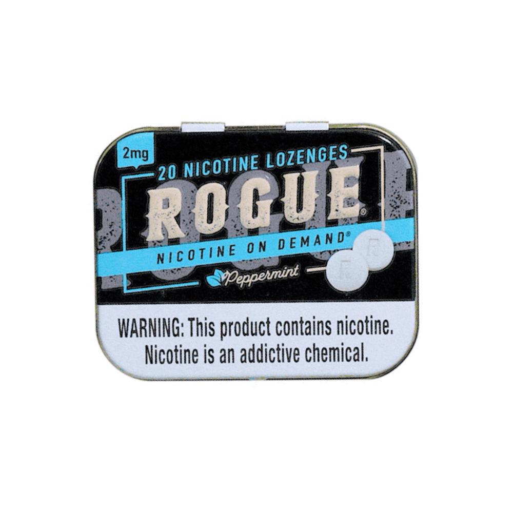 Rogue Nicotine Lozenges - Peppermint - 2mg