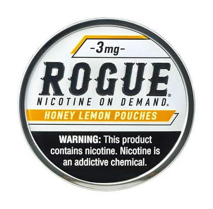 Rogue Nicotine Pouches - Honey Lemon - 3mg - 20 Pouches