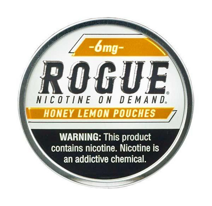 Rogue Nicotine Pouches - Honey Lemon - 6mg - 20 Pouches