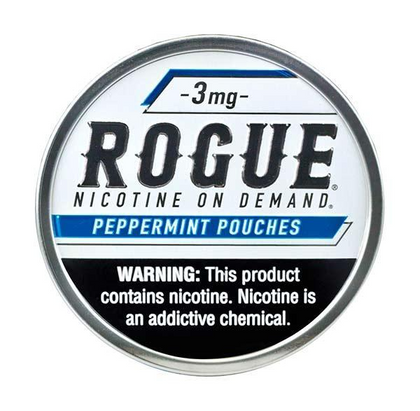 Rogue Nicotine Pouches - Peppermint - 3mg - 20 Pouches